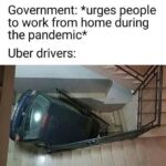 inyay/During the pandemic Uber drivers are