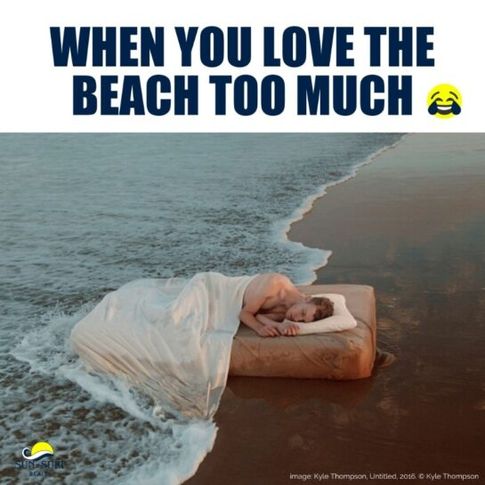 inyay/When you love the beach too much