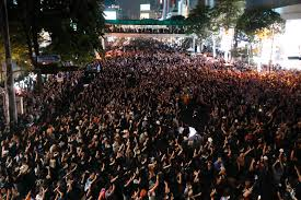 inyay/Thai police and protesters: do not have mercy on us