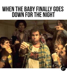 inyay/When the baby finally goes down for the night