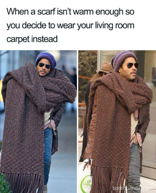 inyay/When a scarf isn't warm