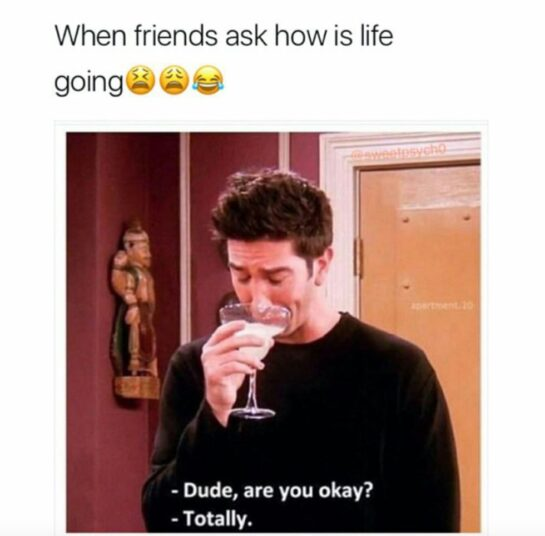 Inyay/The one where you were totally okay. Like totally.