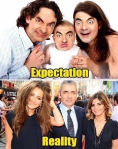 Inyay/Mr. Bean's Family Expectation