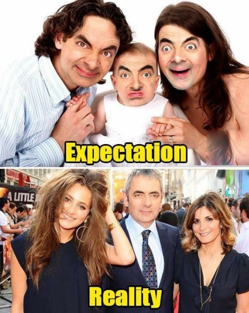 Inyay/Mr. Bean's Family Expectation