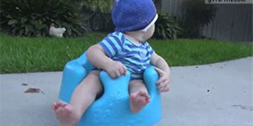 Inyay/Rabbit steals cookie from baby